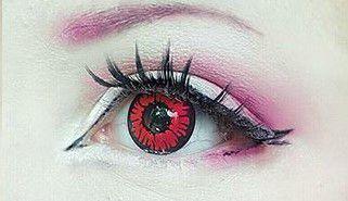 Crazy Lens - Vermelho Demon