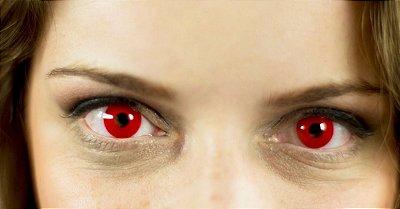 Crazy Lens - Vermelha