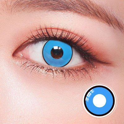 Crazy Lens - Manson Azul