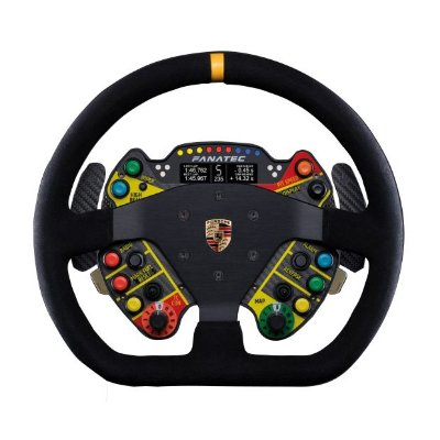 Volante Fanatec Podium Porsche GT3 R Suede