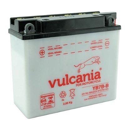 Bateria Vulcania YB7B-B |12V - 7Ah| CBX/NX.150, CBX/NX/XR 200, NX 350, TDM.225, XT 225