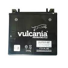 Bateria Vulcania YTX14L-BS |12V - 12Ah| Harley Davidson XL, XHL, (Sportster) 883cc e 1200cc (2004/2011)