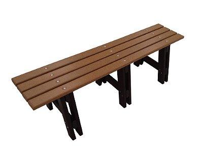 Banco Tarituba madeira plástica 1,50m - Policog