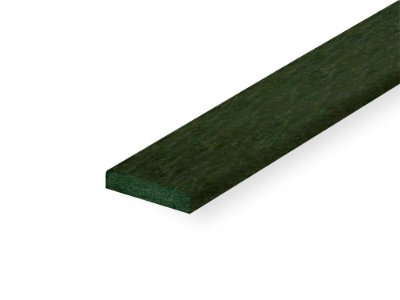Perfil de madeira plástica verde - Policog