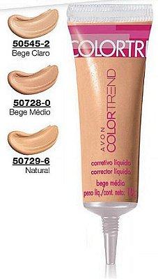 Avon Corretivo Líquido Colortrend 10g - Cor Natura