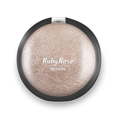 Rubi Rose - Pó Bronzeador - 02  HB7213 - Pérola