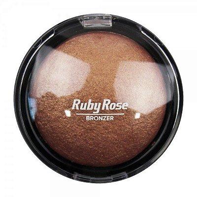 Rubi Rose - Pó Bronzeador - 03 HB7213 - Rose Gold