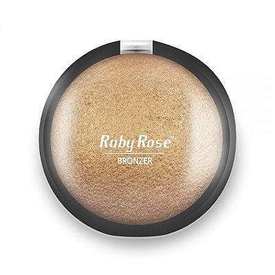 Rubi Rose - Pó Bronzeador - hb7213 - 5 Marrom Gold