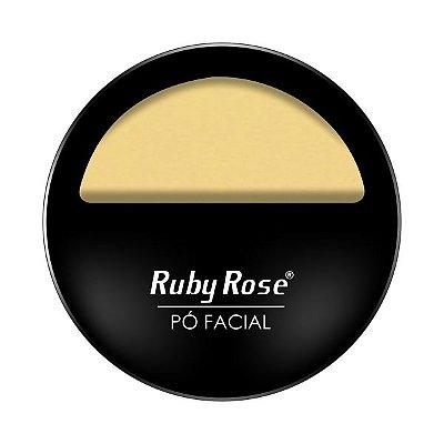 Pó Facial Com Espelho - Cor 03 - HB 7200