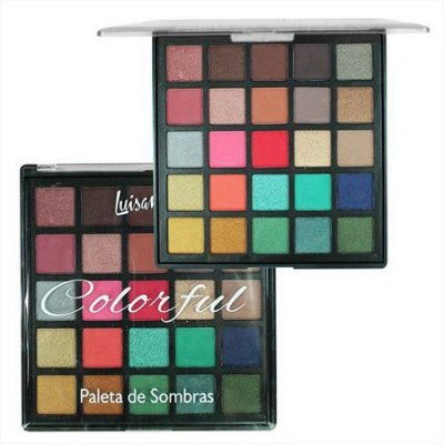 Paleta de Sombras - Colorful - Novas Cores - Luisance