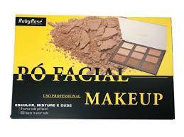Ruby Rose - Pó Facial Makeup - Profissional