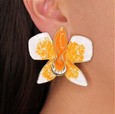 Brincos Orquídea