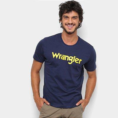 Camiseta Wrangler Manga Curta Masculina
