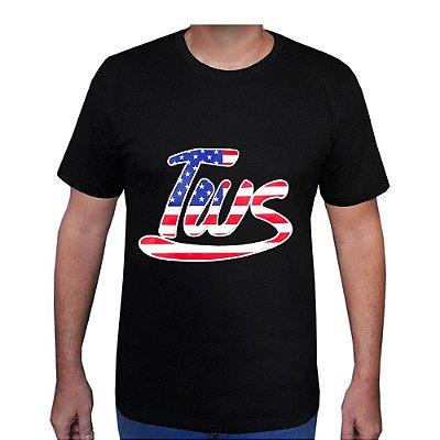 Camiseta Tws Preta EUA