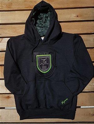 Moleton 2k - preto/verde