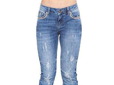 Calça Zenz Western - Jeans navy