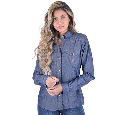 Camisa Wrangler Jeans - Feminina