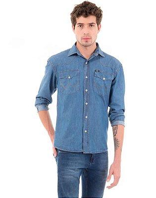 Camisa Wrangler jeans - Masculina