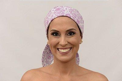 Lenço Quimioterapia Chapéu Lilás