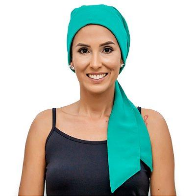 Lenço Quimioterapia Headscarf Verde Esmeralda