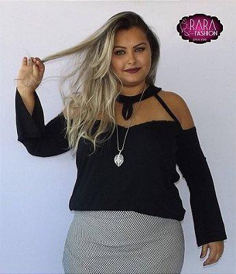 b5e11ed03 Blusa Tina Plus Size - Moda Feminina Plus Size do tamanho 48 ao 66 .
