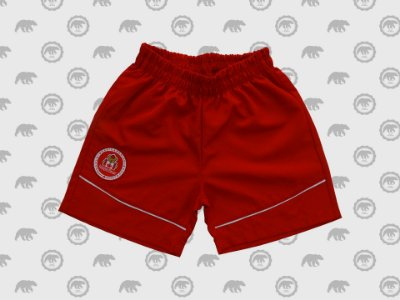 Short Microfibra Masculino Infantil Uniforme Maple Bear
