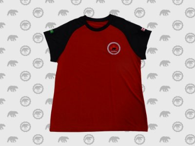 Camiseta Manga Curta Feminina Fundamental II Uniforme Maple Bear