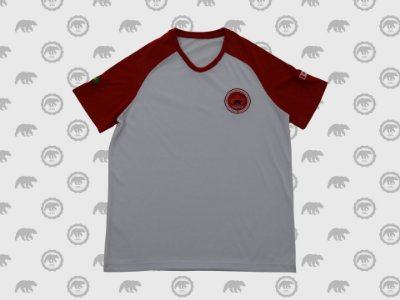 Camiseta Manga Curta Masculina Fundamental Uniforme Maple Bear