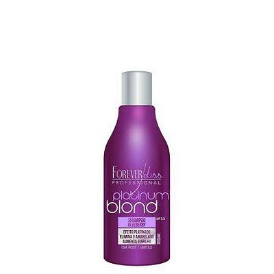 Shampoo Matizador Platinum Blond 300ml Forever Liss