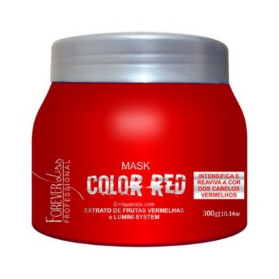 Máscara Tonalizante Color Red 250g Forever Liss