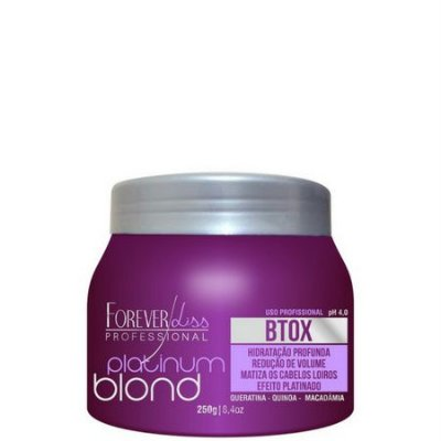 Btox Matizador Intensive Platinum Blond 250g Forever Liss