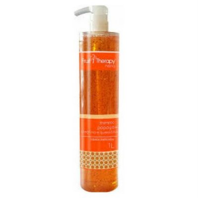 Shampoo Papaya 1L Fruit Therapy Nano Left Cosméticos