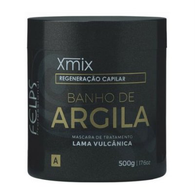 Banho de Argila 500g Xmix Felps Profissional