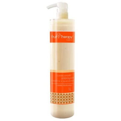 Condicionador Papaya 1L Fruit Therapy Nano Left Cosméticos