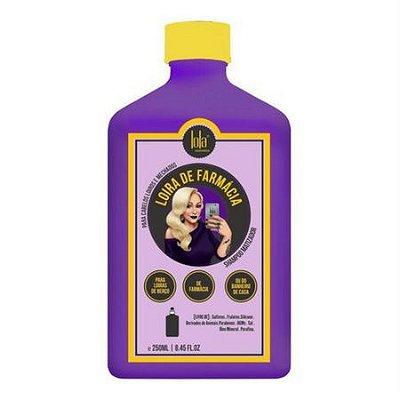 Shampoo Matizador Loira de Farmácia 250ml Lola