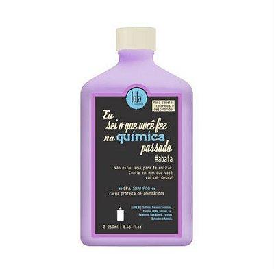 Shampoo Eu Sei o Que Você Fez na Química Passada 250ml Lola