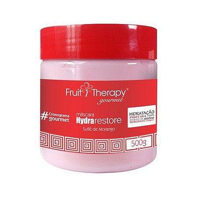 Máscara de Hidratação Suflê de Morango 500g Fruit Therapy Gourmet Left Cosméticos