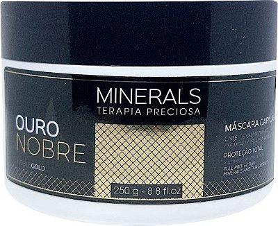 Máscara Ouro Nobre 250gr Minerals Terapia Preciosa - Left Cosméticos