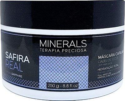 Máscara Safira Real 250gr Minerals Terapia Preciosa - Left Cosméticos