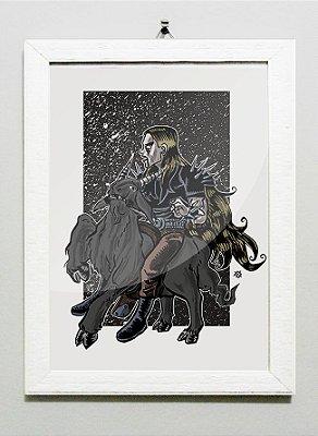 Print A5 - Black Metal