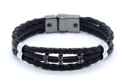 Pulseira Masculina de Couro 155 Henry Ford | M-DUX