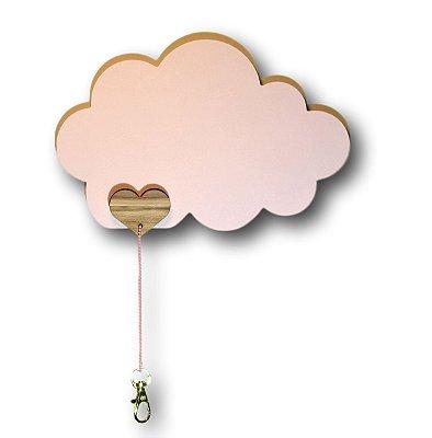 Porta chaves Coração nas Nuvens