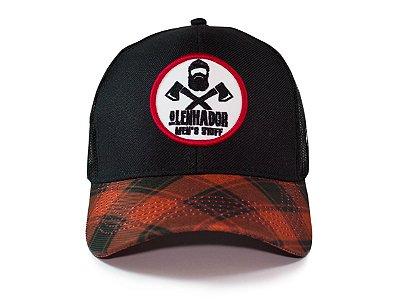 Boné O Lenhador Lumberjack Black