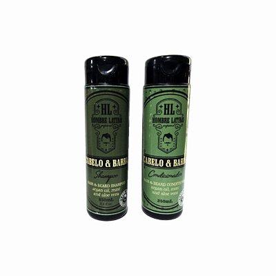 Kit Shampoo + Condicionador / Hombre Latino