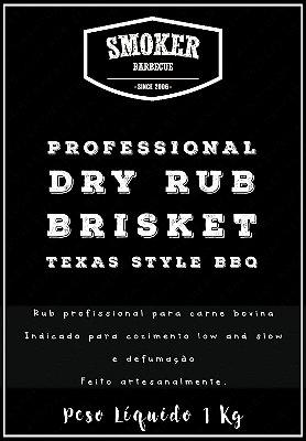 Smoker Dry Rub Brisket