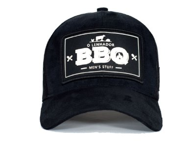 Boné O Lenhador BBQ BLACK