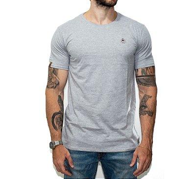 Camiseta Básica O Lenhador - CINZA