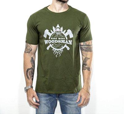 Camiseta Woodsman O Lenhador - VERDE