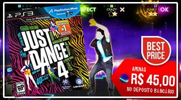 Banner Promoção Just Dance 4 PS3
