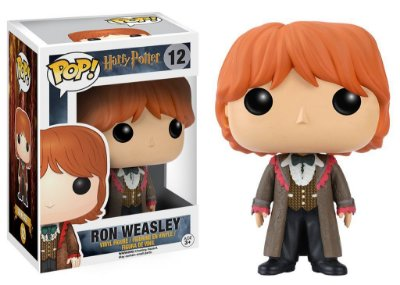 FUNKO POP! HARRY POTTER: RON YULE BALL